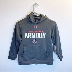 Under Armour Boy's Hall of Fame Hoodie